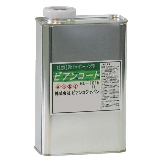 (代引き不可)(同梱不可)ビアンコジャパン(BIANCO JAPAN) ビアンコートB ツヤ有り 1L缶 BC-101b