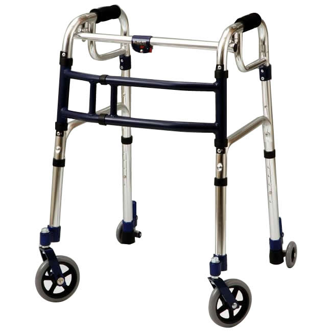 (同梱不可)優羽 伸縮歩行器スライドフィット・Lタイプ 室内・屋外兼用タイプ L-0195C