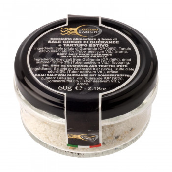 ミネラル豊富なサマートリュフ入り海塩 代引き不可 同梱不可 ジュリアーノ タルトゥーフィ 60g 2056 販売実績No.1 ゲランド塩 8個セット サマートリュフ入り 期間限定の激安セール