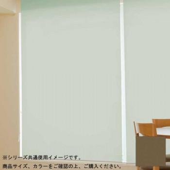 (代引き不可)(同梱不可)タチカワ ファーステージ ロールスクリーン オフホワイト 幅130×高さ200cm プルコード式 TR-139 ショコラ