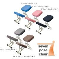 (同梱不可)ルネセイコウ 正しい姿勢をサポートする可変式チェア セブンポーズチェア 日本製 完成品 SPC-14W