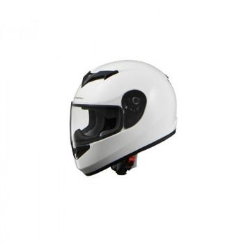 (同梱不可)リード工業 STRAX フルフェイスヘルメット ホワイト Lサイズ SF-12
