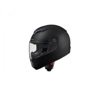 (同梱不可)リード工業 STRAX フルフェイスヘルメット マットブラック Lサイズ SF-12