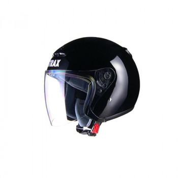 (同梱不可)リード工業 STRAX ジェットヘルメット ブラック BIG SJ-4