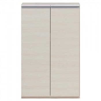 (代引き不可)(同梱不可)収納棚 戸棚 ホワイトウッド ECS-60L