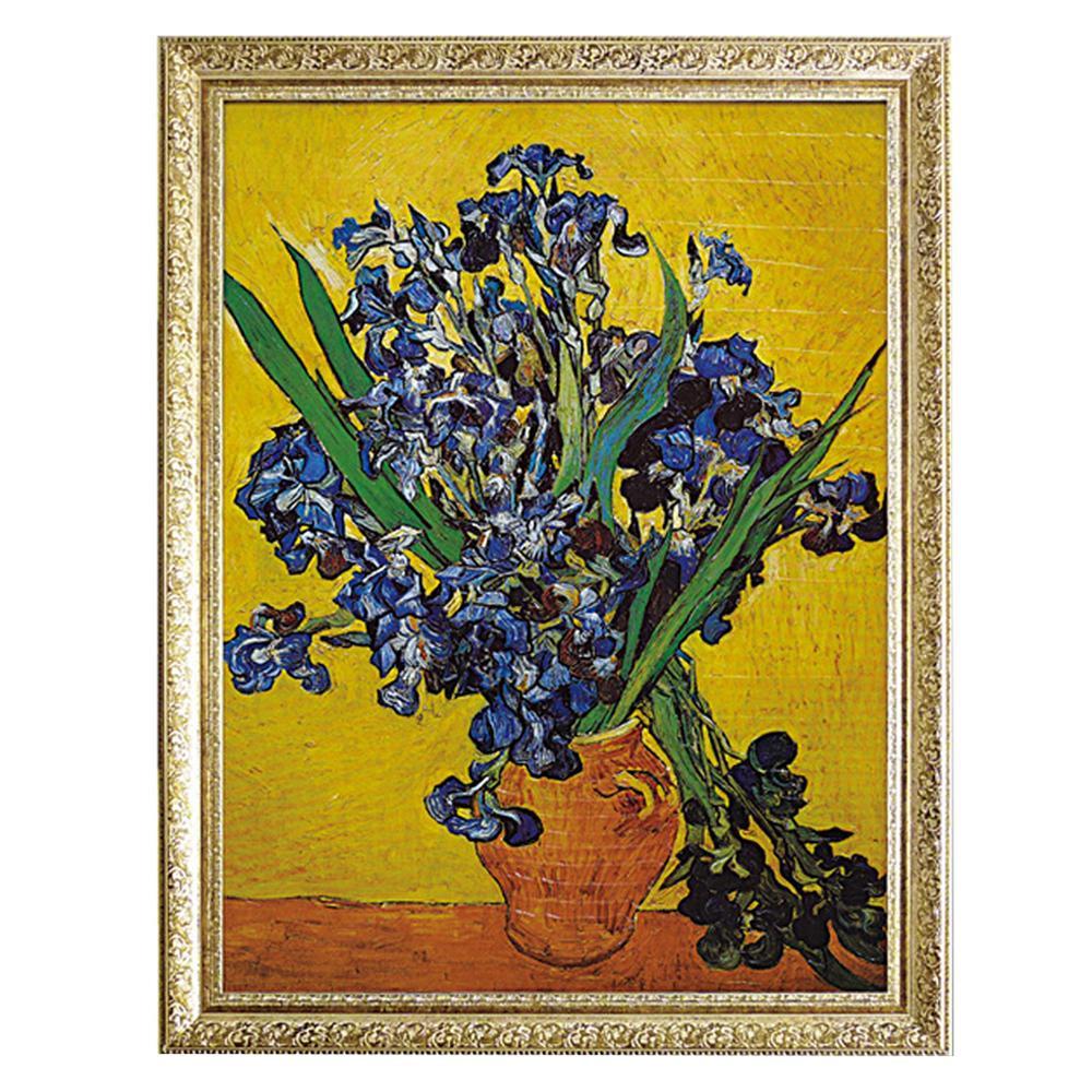 (同梱不可)ユーパワー ミュージアム シリーズ ゴッホ「花瓶のアイリス」 MW-18072