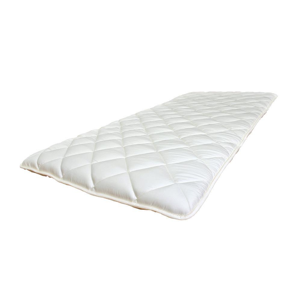 (代引き不可)(同梱不可)防ダニ・抗菌防臭・吸汗速乾わた使用! 3層硬綿敷ふとん