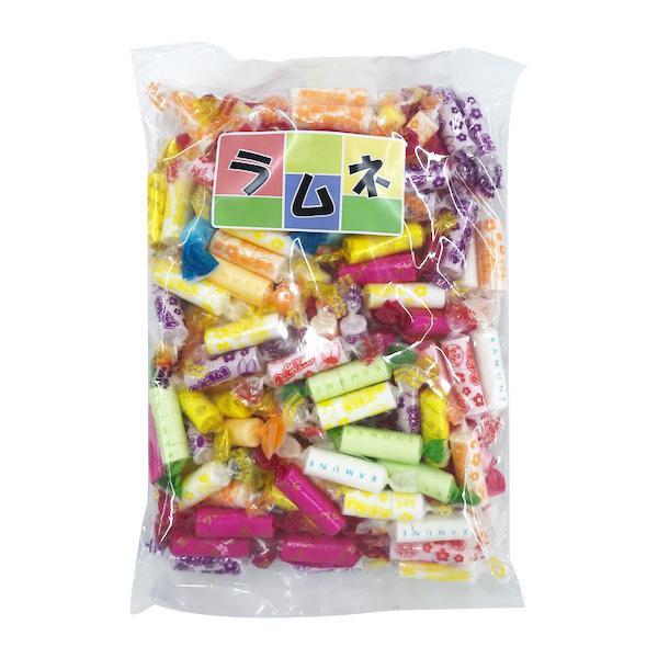 優先配送 昔懐かしいラムネ菓子 代引き不可 同梱不可 ラムネミックス 500g×12袋 D-17 超定番