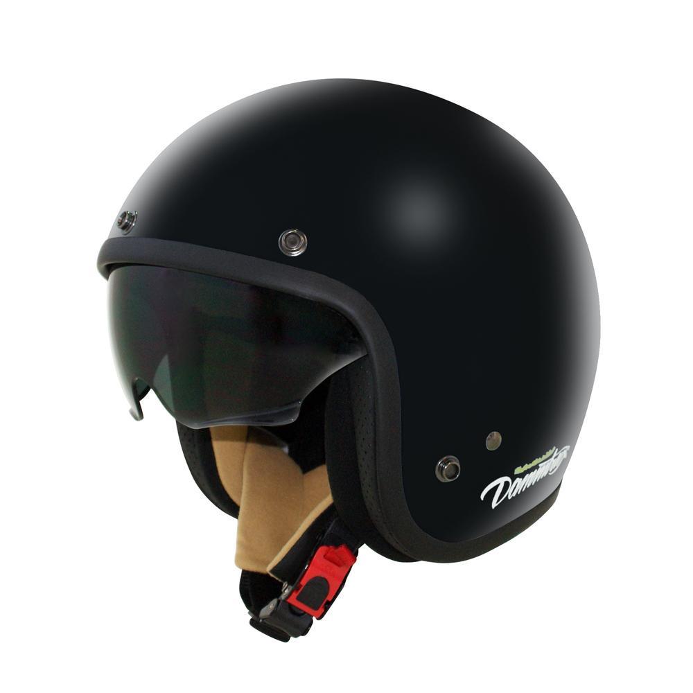 (同梱不可)ダムトラックス(DAMMTRAX) AIR MATERIAL ヘルメット PEARL BLACK KIDS
