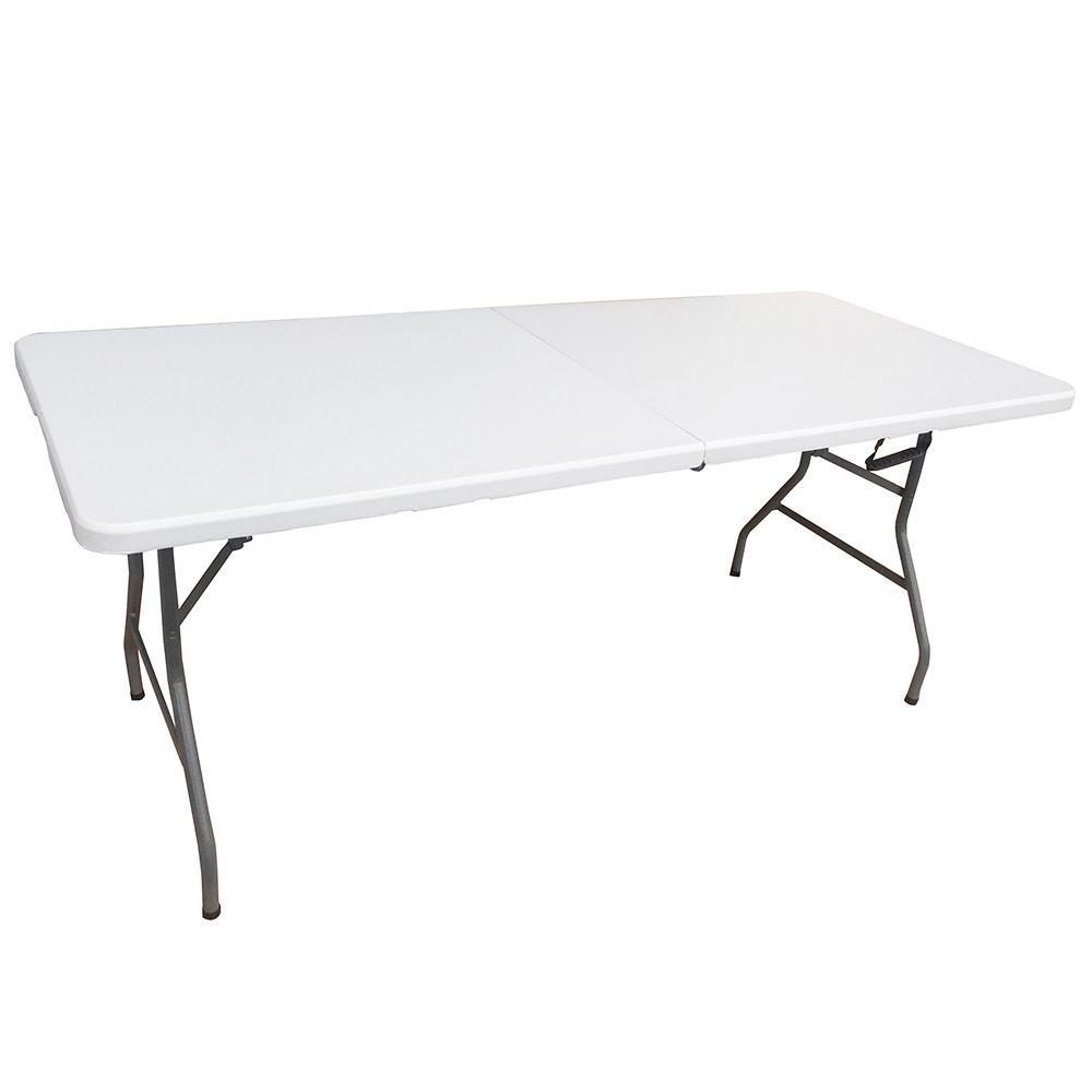 (代引き不可)(同梱不可)折りたたみテーブルLL YCZ-182