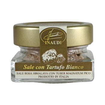 販売実績No.1 様々なお料理に 代引き不可 同梱不可 イタリア INAUDI社 イナウディ T12 白トリュフ塩 1年保証 30g×6個