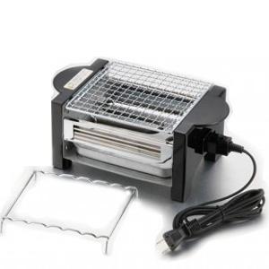卓上で焼けます やきとり 簡単 メイルオーダー 使い勝手の良い 焼き コンロ 手軽 網 CS3-060301 やきやき道場 卓上 調理 同梱不可