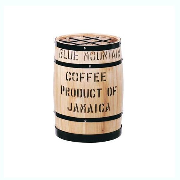 (同梱不可)コーヒー樽傘立 白