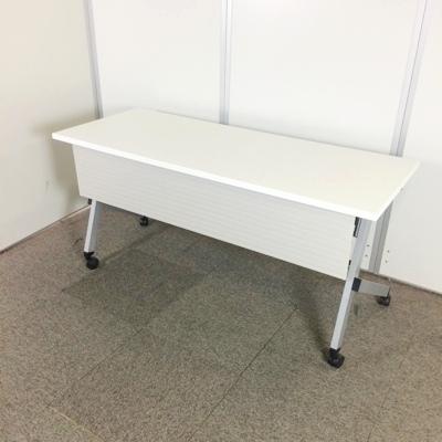 スタックテーブル 内田洋行 PLATTE 1500W×600D×700H ピュアホワイト