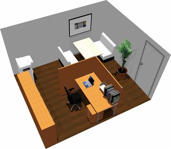 【送料無料】【smtb-TK】【クリエイティブ】SOHO家具パッケージ・15平米(1人用) 打合せはファミレススタイルで!【YDKG-tk】【fsp2124】【fs2gm】【fs3gm】