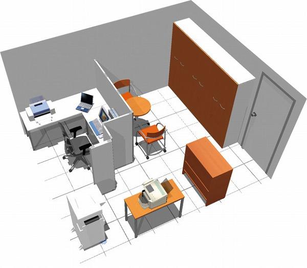 【送料無料】【smtb-TK】【クリエイティブ】SOHO家具パッケージ・15平米(1人用) 集中執務室に!【YDKG-tk】【fsp2124】【fs2gm】【fs3gm】