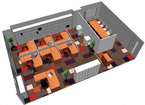 【送料無料】【smtb-TK】【クリエイティブ】SOHO家具パッケージ・80平米(7人用)資料【YDKG-tk】【fsp2124】【fs2gm】【fs3gm】