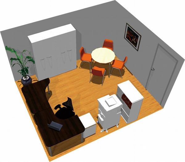 【送料無料】【smtb-TK】【スタンダード】SOHO家具パッケージ・15平米(1人用) PCからコピーまで自分中心!【YDKG-tk】【fsp2124】【fs2gm】【fs3gm】