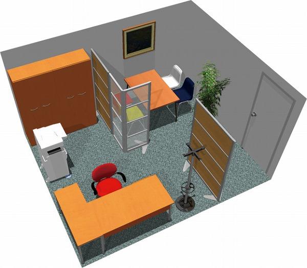 【送料無料】【smtb-TK】【クリエイティブ】SOHO家具パッケージ・15平米(1人用) 明るい商談!【YDKG-tk】【fsp2124】【fs2gm】【fs3gm】
