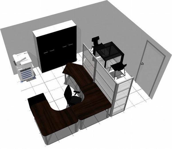 【送料無料】【smtb-TK】【クリエイティブ】SOHO家具パッケージ・15平米(1人用) PCからコピーまで自分中心!【YDKG-tk】【fsp2124】【fs2gm】【fs3gm】