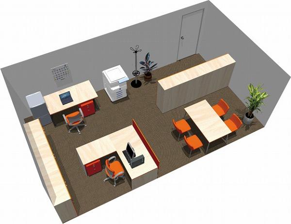 【送料無料】【smtb-TK】【スタンダード】SOHO家具パッケージ・28平米(2人用) アシスタントとグッドコミュニケーション【YDKG-tk】【fsp2124】【fs2gm】【fs3gm】