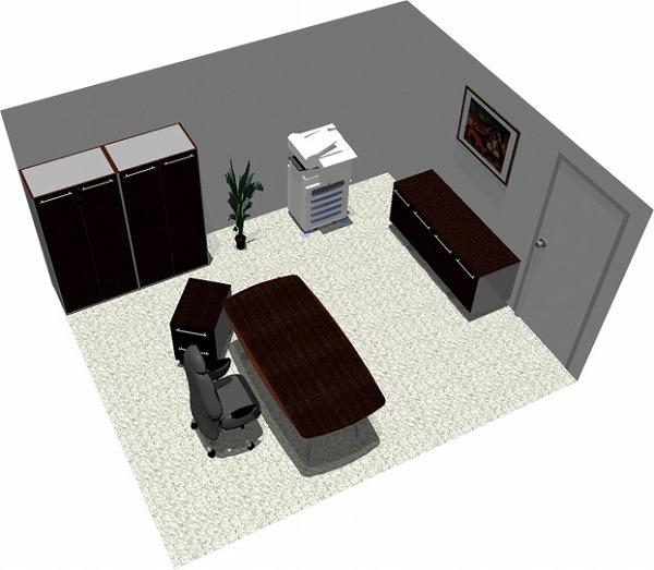 【送料無料】【smtb-TK】【エグゼクティブ】SOHO家具パッケージ・15平米(1人用) 社長にはカッコよく!【YDKG-tk】【fsp2124】【fs2gm】【fs3gm】