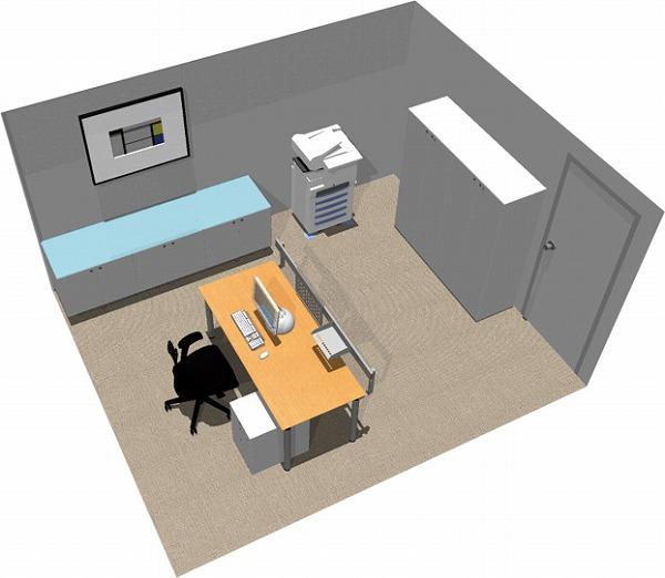 【送料無料】【smtb-TK】【エグゼクティブ】SOHO家具パッケージ・15平米(1人用) はじめての個室【YDKG-tk】【fsp2124】【fs2gm】【fs3gm】