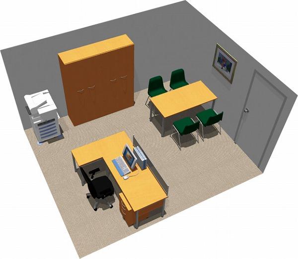 【送料無料】【smtb-TK】【スタンダード】SOHO家具パッケージ・15平米(1人用)ヘビーミーティング【YDKG-tk】【fsp2124】【fs2gm】【fs3gm】