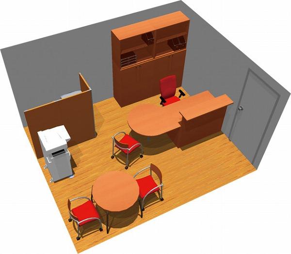 【送料無料】【smtb-TK】【スタンダード】SOHO家具パッケージ・15平米(1人用) 受付から商談までオールインワン【YDKG-tk】【fsp2124】【fs2gm】【fs3gm】