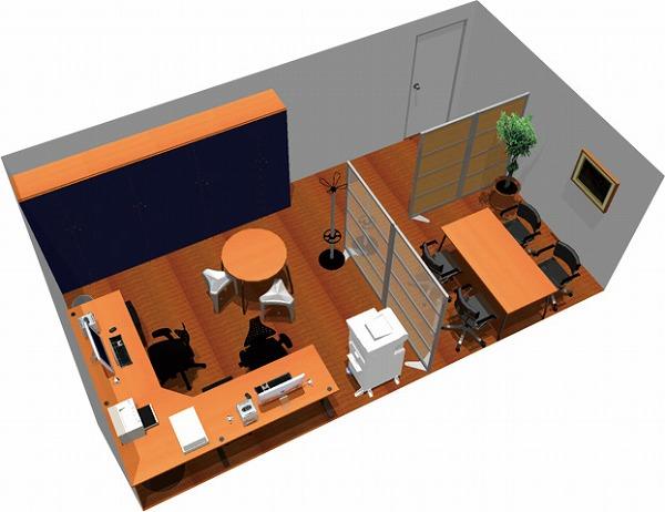 【送料無料】【smtb-TK】【スタンダード】SOHO家具パッケージ・28平米(2人用) コーナーテーブルを有効利用【YDKG-tk】【fsp2124】【fs2gm】【fs3gm】