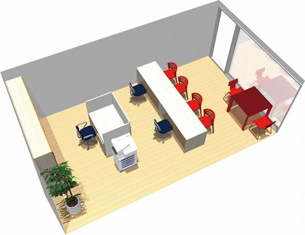 【送料無料】【smtb-TK】【店舗】SOHO家具パッケージ・28平米(3人用) 白木のナチュラルショップ【YDKG-tk】【fsp2124】【fs2gm】【fs3gm】