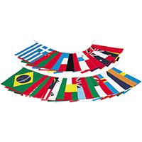 万国旗(20カ国) EKA-381 旗のみ 10P03Sep16