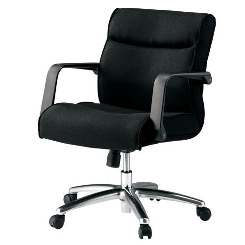 チェア マネージャーチェア ミドルバック 布張り PLUS(プラス) KB-MA062SL / オフィスチェア、ワークチェア、事務椅子 10P03Sep16