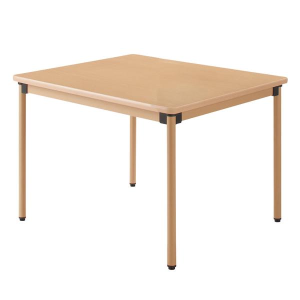【ハイテクウッド】ローコストユニバーサルテーブル <W900×D900×H700> UFT-ST9090【介護・福祉施設用】 10P03Sep16