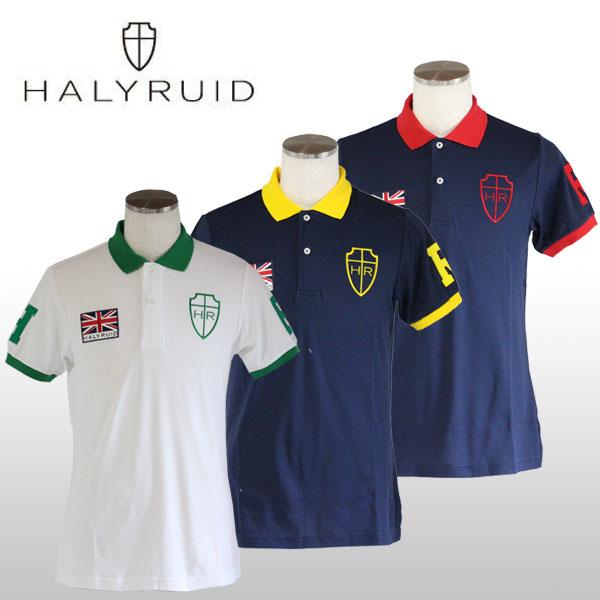 ハリールイド(HALYRUID) BIG HR 半袖ポロシャツ メンズ