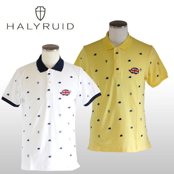 ハリールイド(HALYRUID) ハリー 半袖ポロシャツ メンズ
