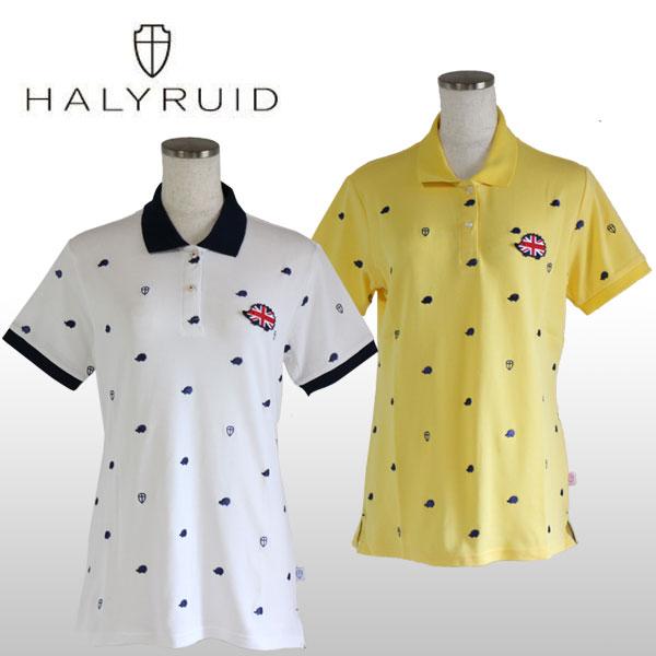 ハリールイド(HALYRUID) ハリー 半袖ポロシャツ レディース