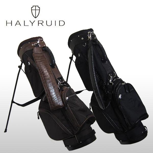 ハリールイド(HALYRUID)スタンド式 クロコ調 キャディバッグ