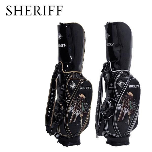 シェリフ 海賊シリーズ カートキャディバッグ SKZ-005 SHERIFF STANDARD カートCB【限定50本】