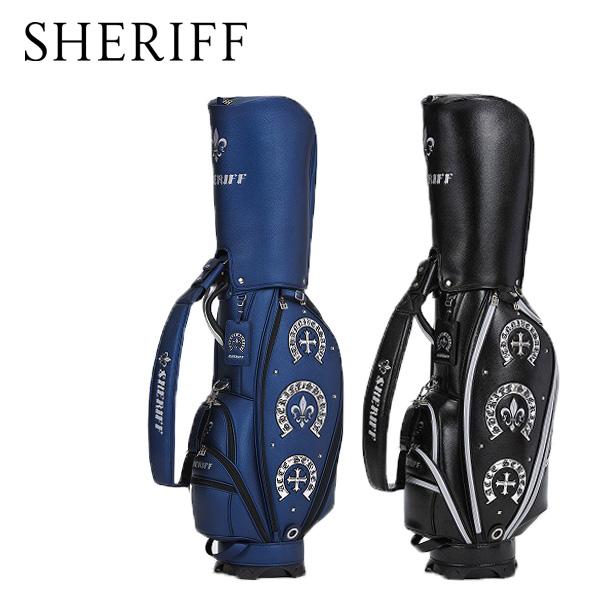 シェリフ アクセシリーズ カートキャディバッグ SHERIFF STANDARD カートCB【限定50本】 SAC-005