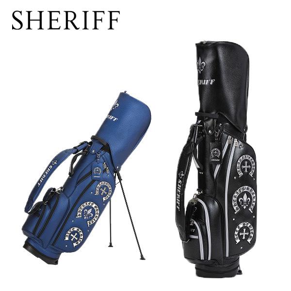 シェリフ アクセシリーズ スタンドキャディバッグ SHERIFF STANDARD スタンドCB【限定50本】 SAC-006