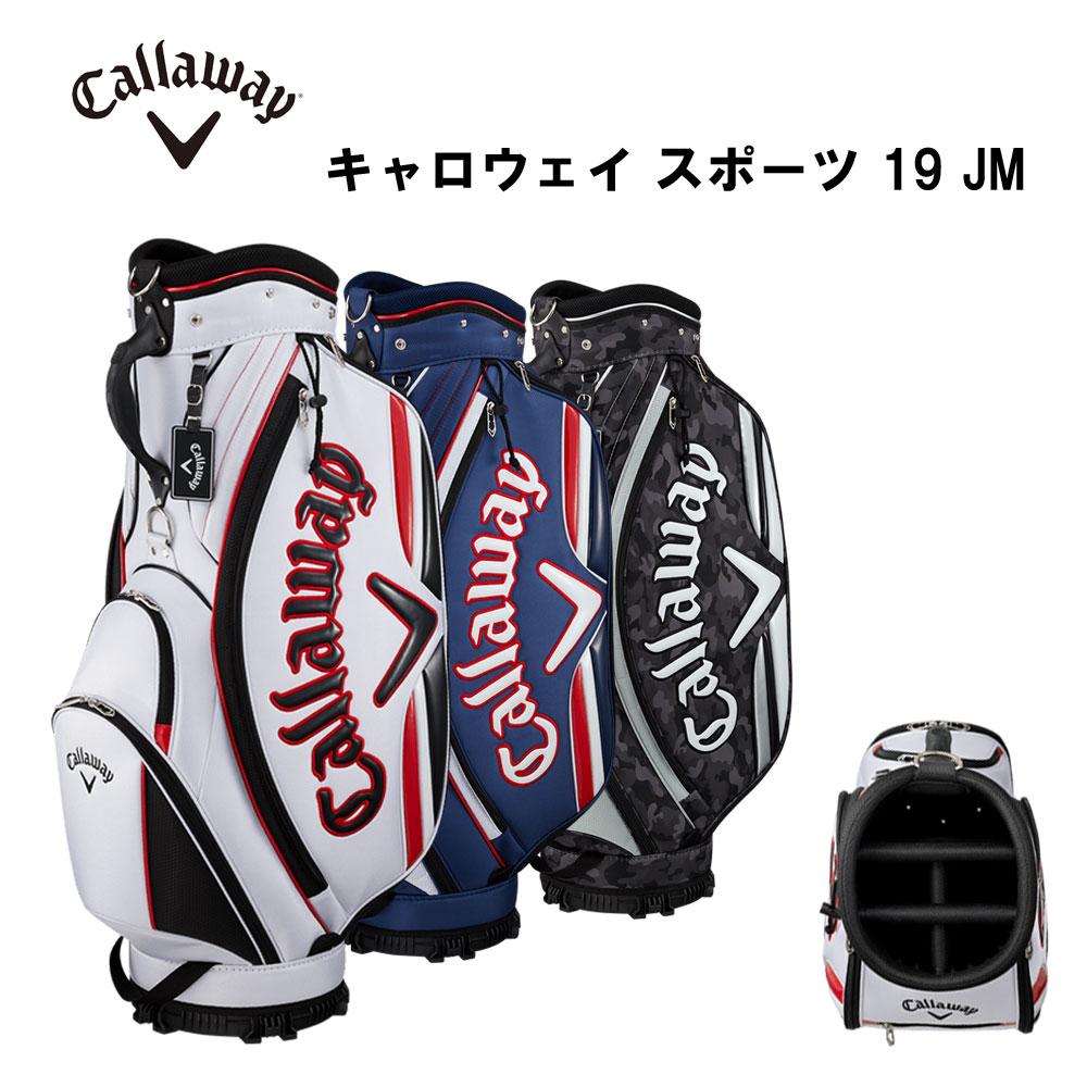 キャロウェイ スポーツ 19 JM キャディバッグ 9型 新品 アメリカン スポーツテイスト