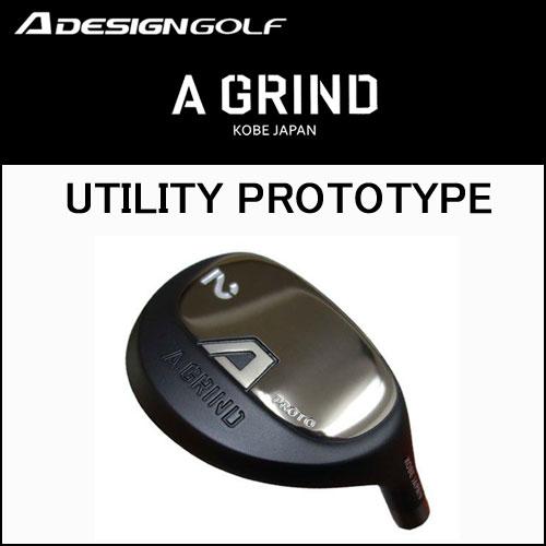 Aデザインゴルフ (A DESIGN GOLF) A GRIND UTILITY PROTOTYPE Aグラインド ユーティリティ プロトタイプ ヘッド単体