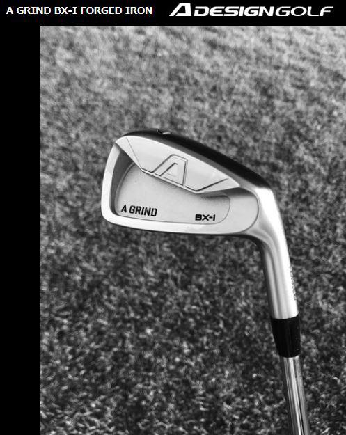 Aデザインゴルフ (A DESIGN GOLF) A GRIND BX-I Aグラインド ヘッド単品 I アイアン 7本セット