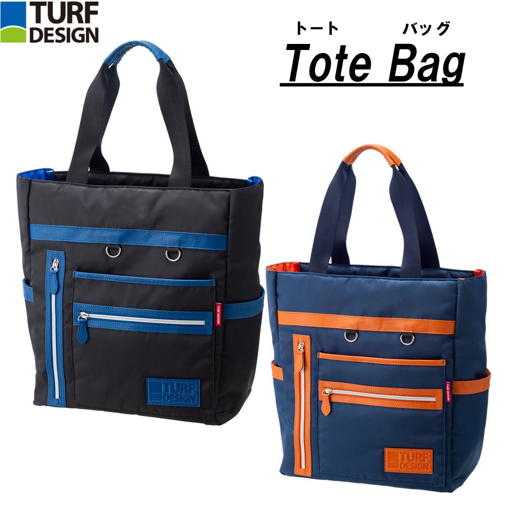 ターフデザイン (TURE DESIGN) トートバッグ Tote Bag 朝日ゴルフ TDTB-1971