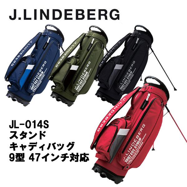 【30%OFFセール】ジェイリンドバーグ (J.LINDEBERG) スタンドキャディバッグ JL-014S 9型 47インチ対応 2017年モデル