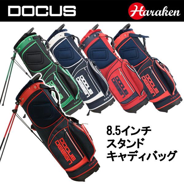 ドゥーカス (DOCUS) HARAKEN(ハラケン) スタンド キャディバッグ ツアーモデル スタンドキャディバッグ 8.5インチ DOCUS Tour Model Stand Bag