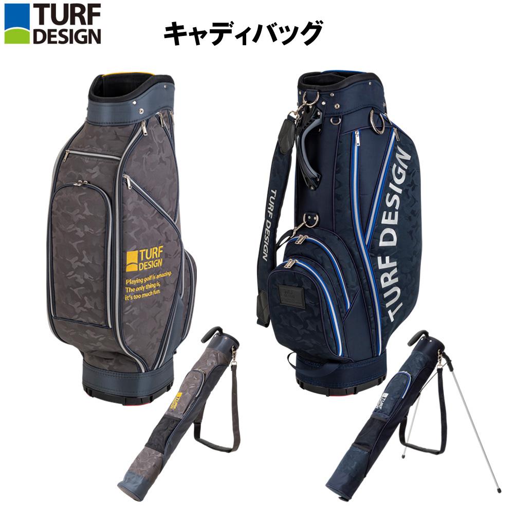ターフデザイン (TURE DESIGN) キャディバッグ Caddie Bag 朝日ゴルフ TDCB-1874