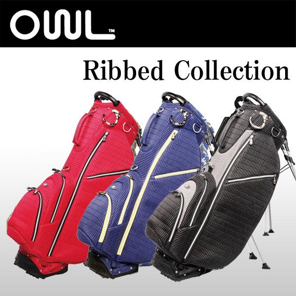 オウル (OUUL) スタンド キャディバッグ リベット 8.5型 47インチ Ribbed 5WAY STAND BAG 【EVEN掲載商品】