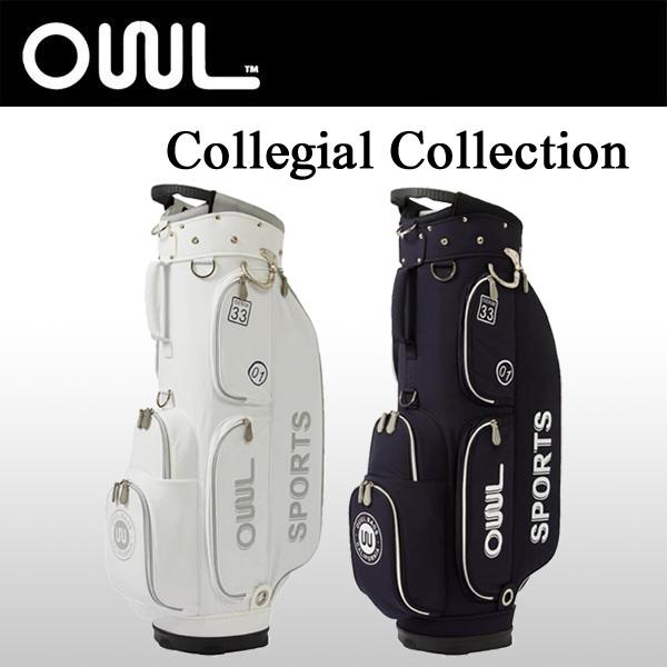 オウル (OUUL) カート キャディバッグ カレジアル 8.5型 47インチ Collegial Collection 5WAY CART BAG